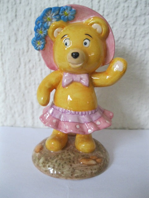 Royal Worcester Tessie Bear - Noddy Series
