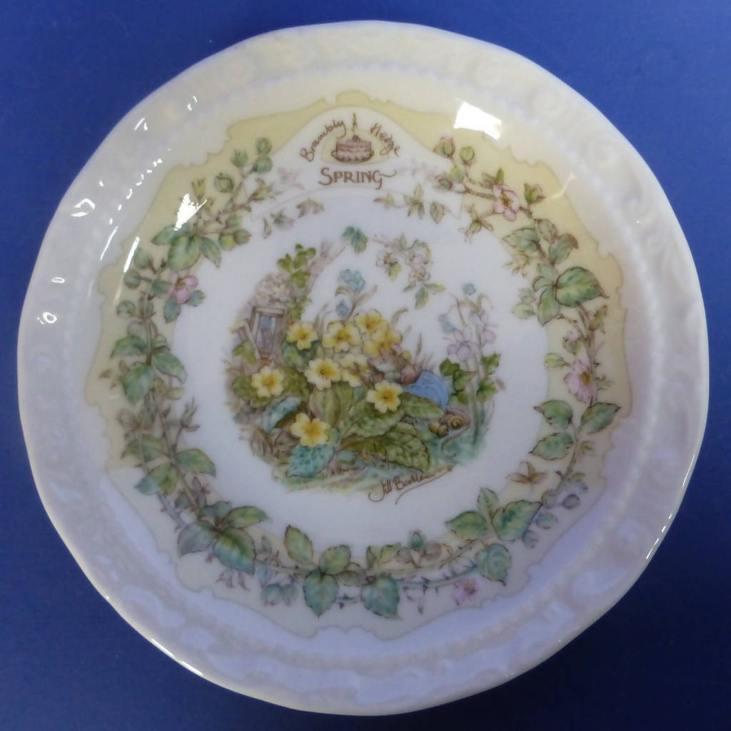 Royal Doulton Brambly Hedge Coaster Spring