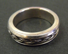 "Jake: ""Celtic"" silver ring"