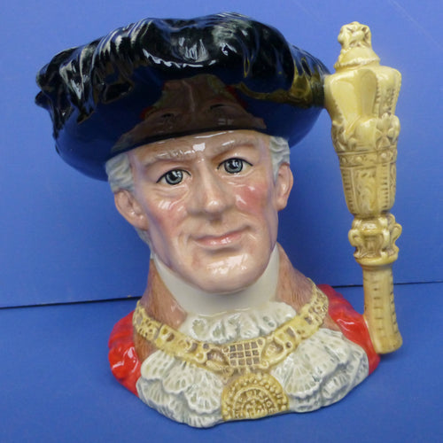 Royal Doulton Large Character Jug Lord Mayor of London D6864