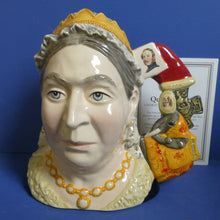 Royal Doulton Limited Edition Character Jug Of The Year Queen Victoria D7152
