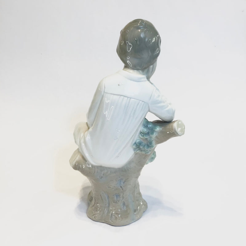 Rare Lladro 'Boy Thinker'