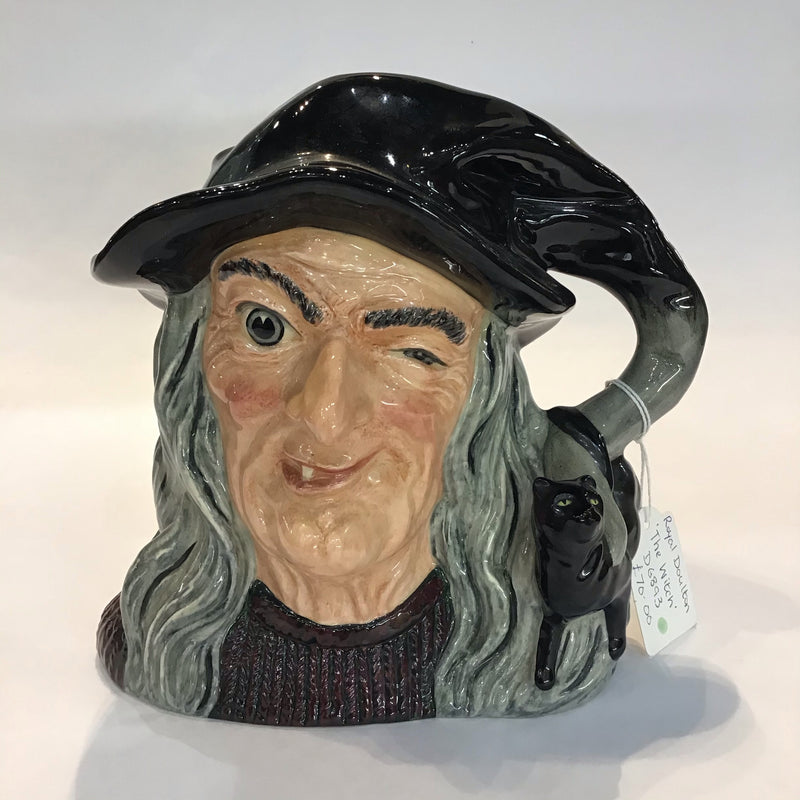 Royal Doulton, The Witch, Character Jug
