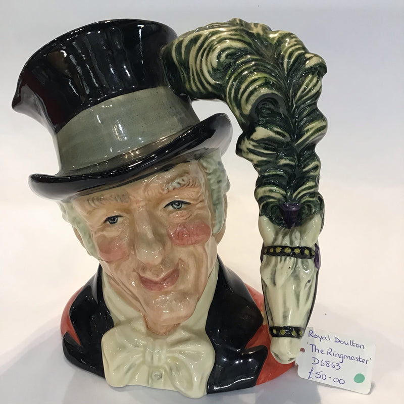 Royal Doulton, The Ringmaster, Character Jug