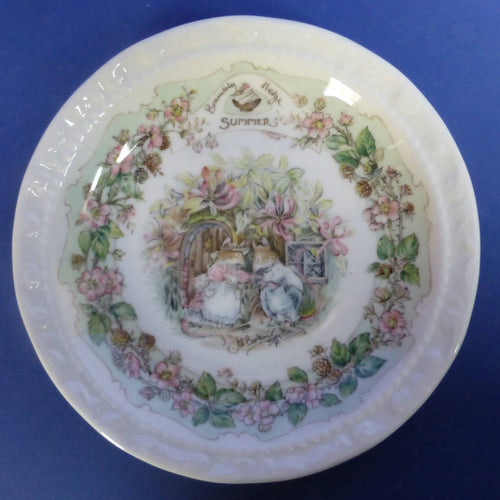 Royal Doulton Brambly Hedge Coaster Summer