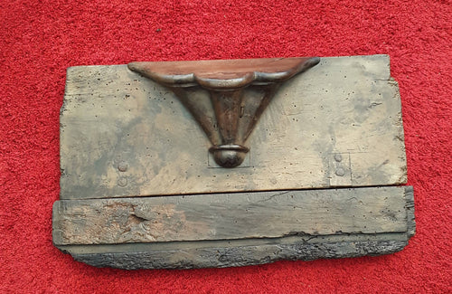 A Medieval Period Oak Misericord Seat.
