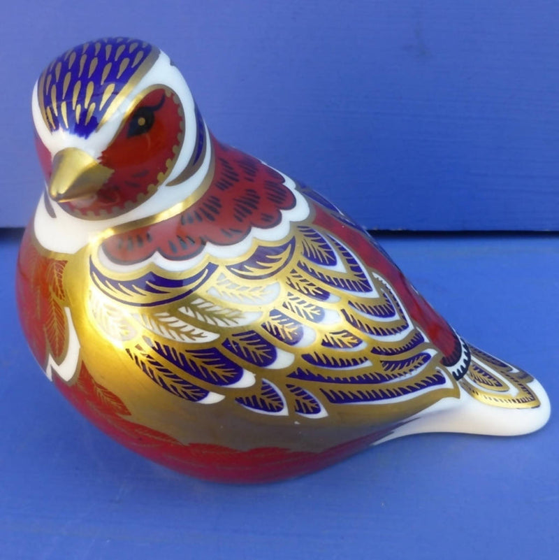 Royal Crown Derby Paperweight Chaffinch