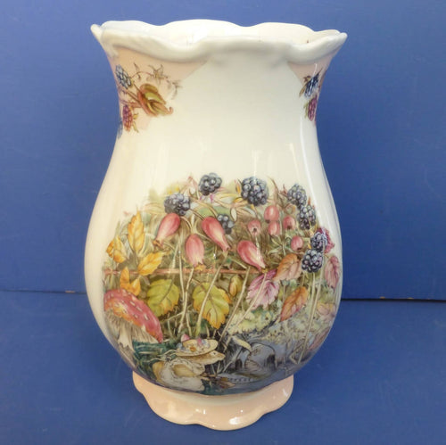 Royal Doulton Brambly Hedge Large Gainsborough Vase - Autumn