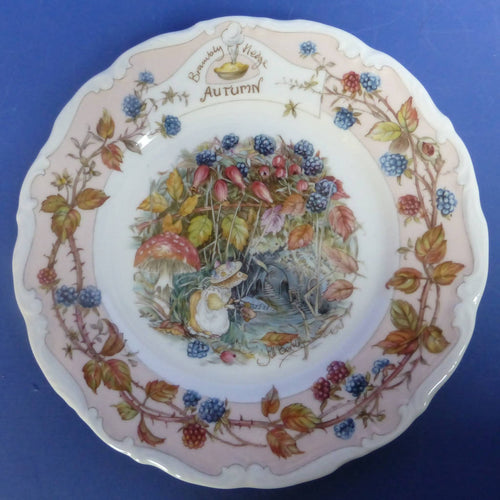 Royal Doulton Brambly Hedge Tea Plate Autumn