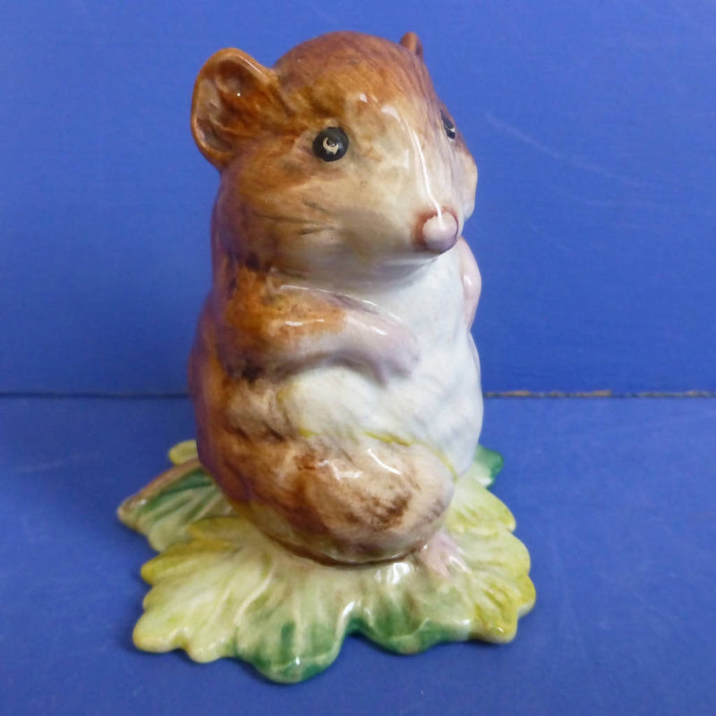 Beswick Beatrix Potter Figurine Timmie Willie From Johnny Townmouse (Gold Backstamp) BP2