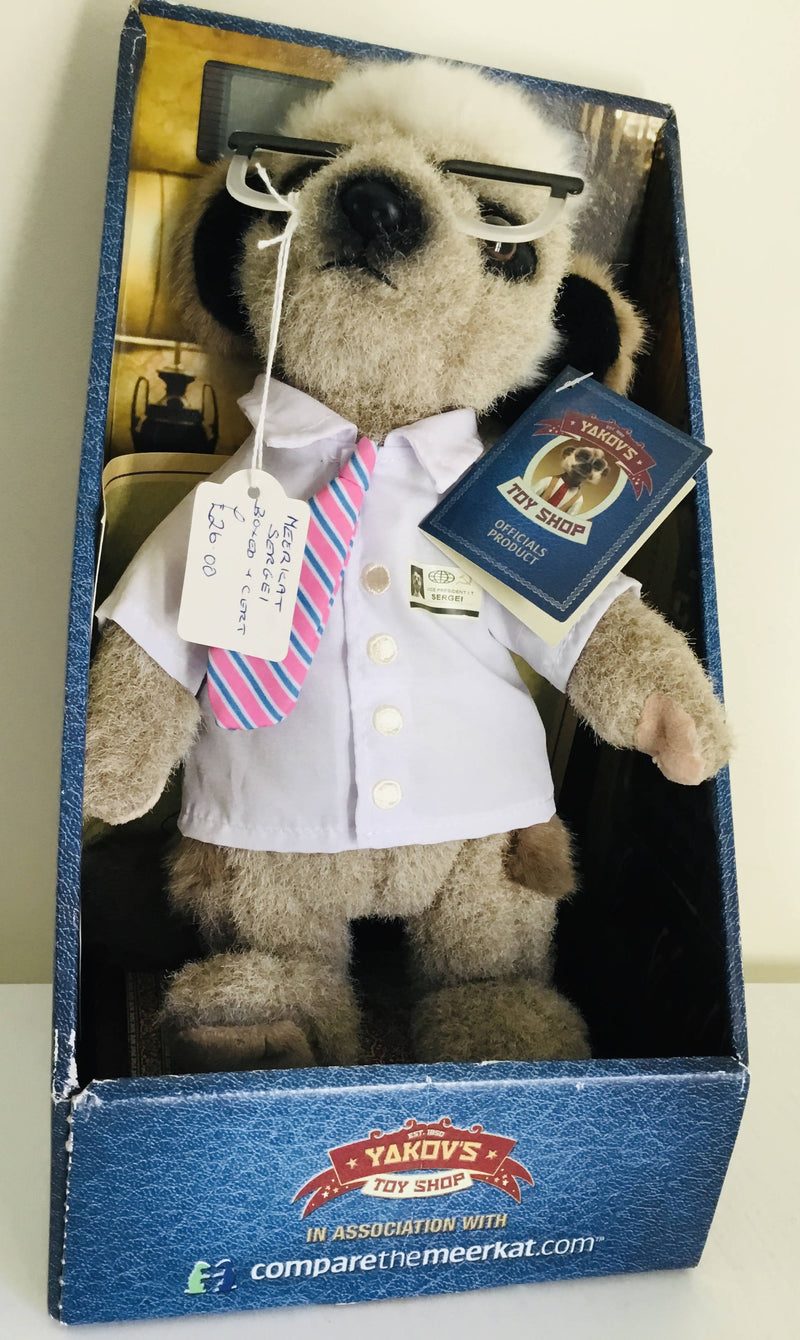 Compare The Meerkat Sergei Boxed
