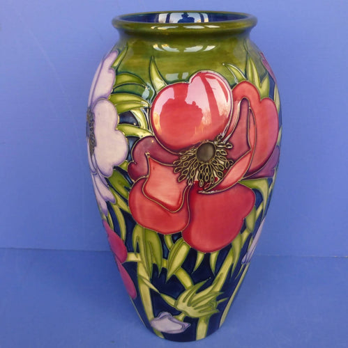 Moorcroft Large Vase - Tribute To Anemone by Emma Bossons