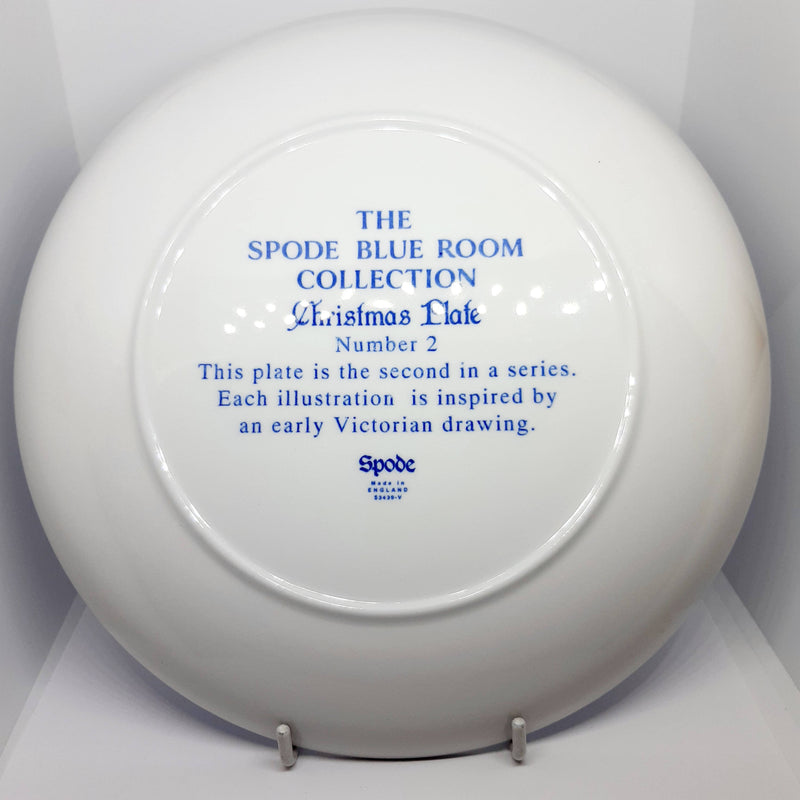 Spode Blue Room Collection Christmas Plate No.2
