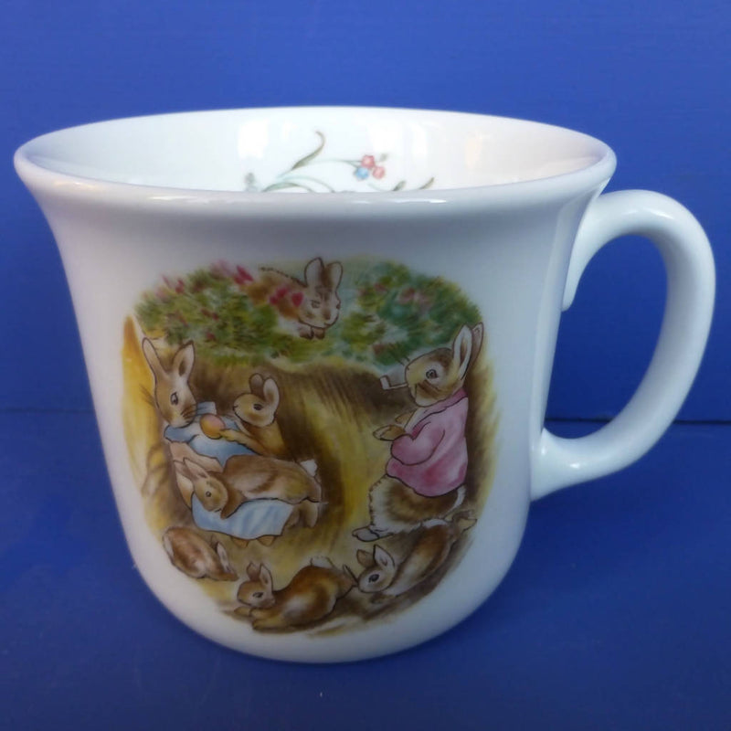 Royal Albert Beatrix Potter Beaker Mrs Flopsy Bunnies