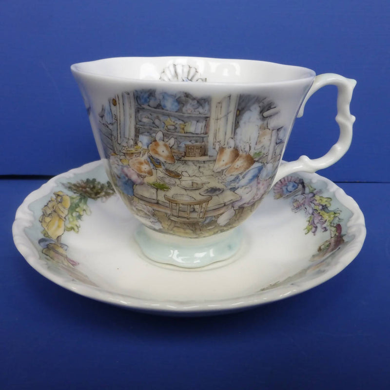 Royal Doulton Brambly Hedge Sea Story Teacup and Saucer - Dining By The Sea