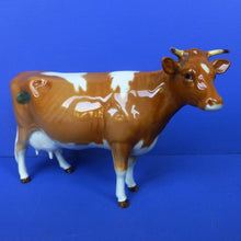Beswick Guernsey Cow model No 1248A (First Version - Horns and Ears Separate) Model No 1248A