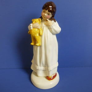 Royal Doulton Childhood Days Figurine - And So To Bed HN2966