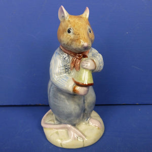 Royal Doulton Brambly Hedge Figurine - Flax Weaver DBH20 (Boxed)