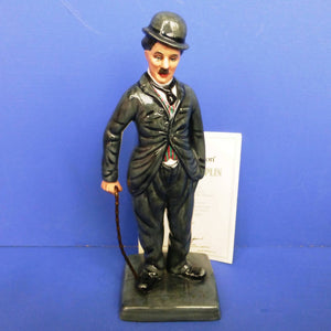 Royal Doulton Limited Edition Figurine Charlie Chaplain D2771