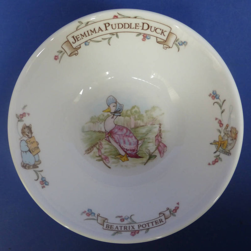 Royal Albert Beatrix Potter Jemima Puddleduck Cereal Bowl