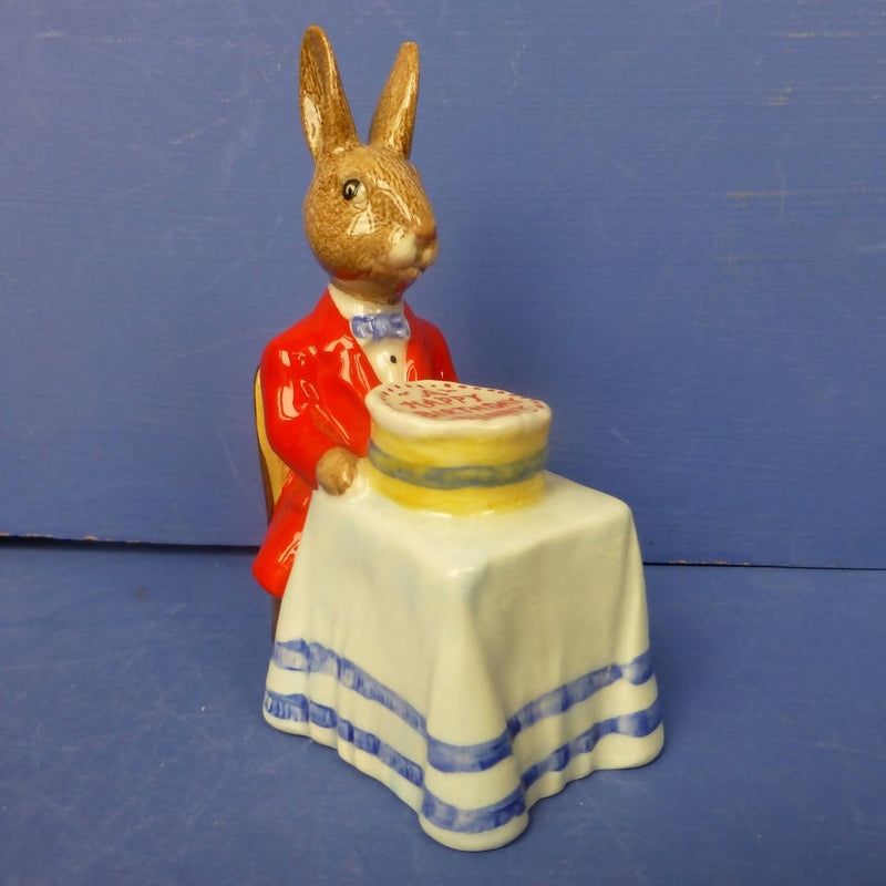 Royal Doulton Bunnykins Figurine - Happy Birthday DB21 (Boxed)