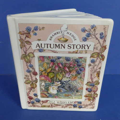 Royal Doulton Brambly Hedge Savings Book Money Box - Autumn