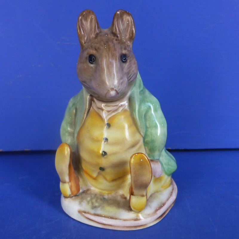 Beswick Beatrix Potter Figurine - Samuel Whiskers BP1a (Rare Gold Circle Backstamp)