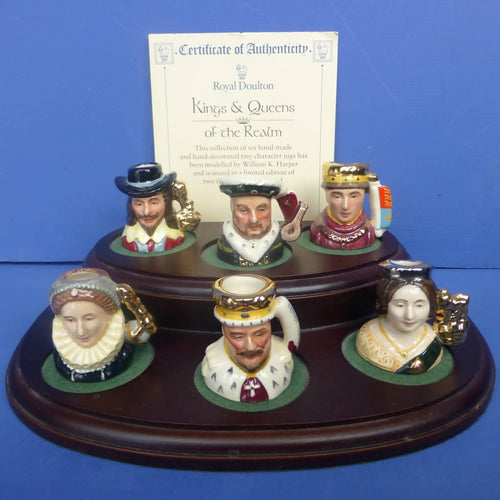 Royal Doulton Limited Edition Kings and Quenns of The Realm