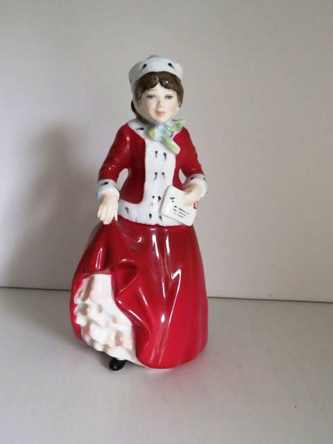Royal Doulton Best Wishes Lady figurine