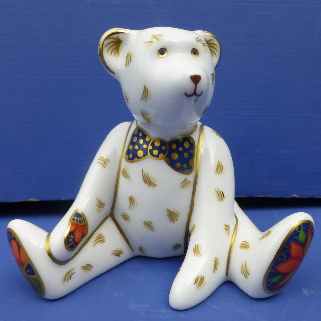 Royal Crown Derby Miniature Teddy Bear - Edward (Boxed)