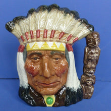 Royal Doulton Large Character Jug - North American Indian D6611