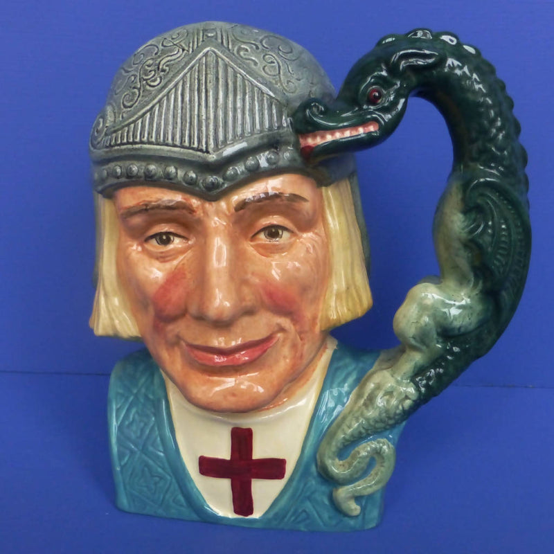 Royal Doulton Large Character Jug - St George D6618
