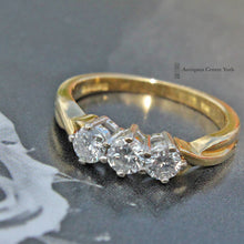 18ct Diamond 0.50ct Three Stone Ring