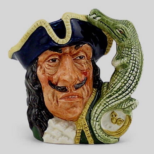 Royal Doulton Miniature Character Jug Captain Hook D6605