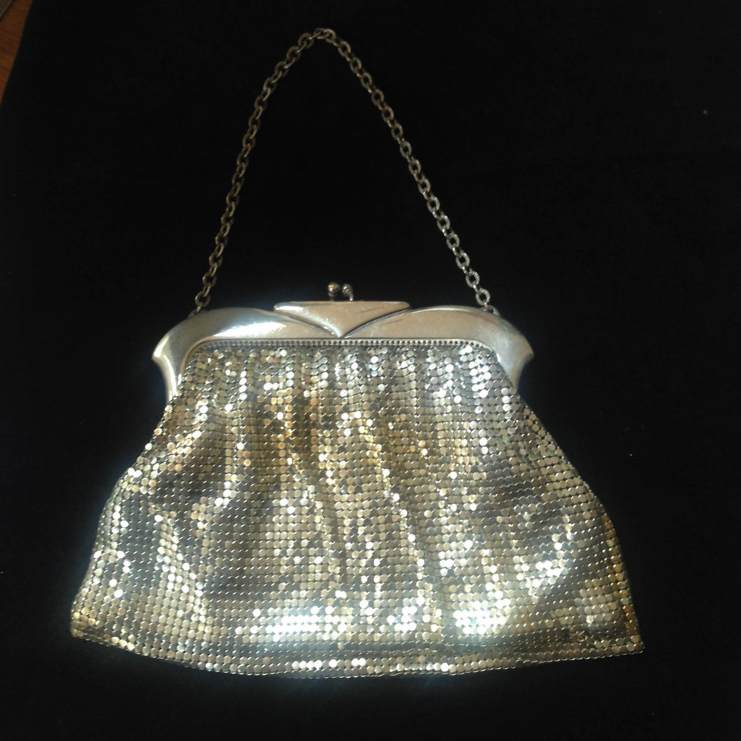 1950's American evening bag by Whiting and Davis