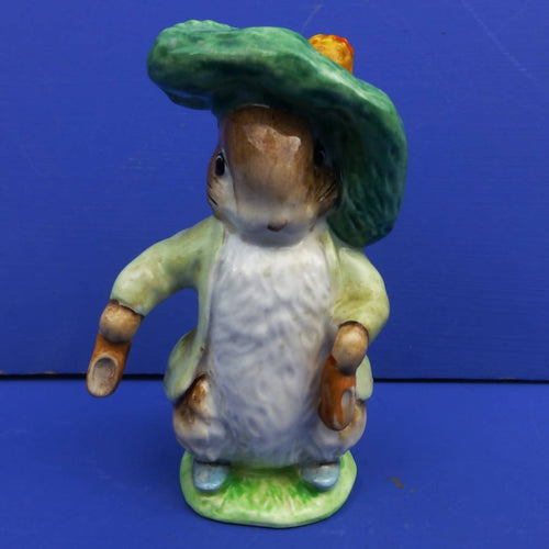 Beswick Beatrix Potter Figurine Benjamin Bunny (1st Edition Shoes Out) BP3A