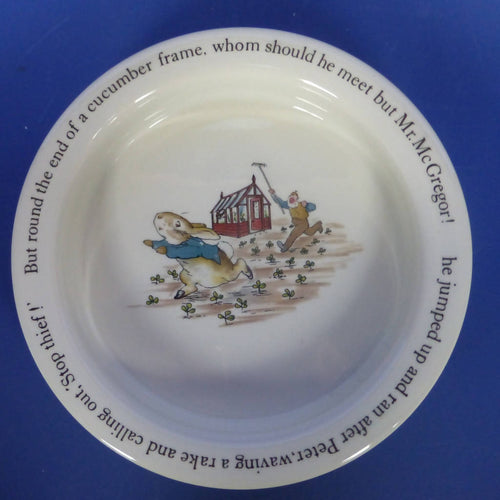 Wedgwood Peter Rabbit Oatmeal Dish