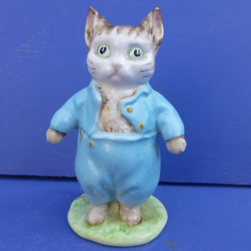 Beswick Beatrix Potter Figurine Tom Kitten BP2 (Gold Backstamp)