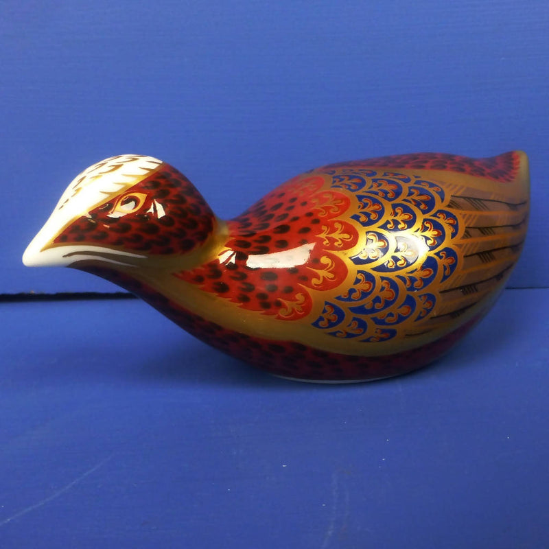 Royal Crown Derby Paperweight - Coot (Boxed)