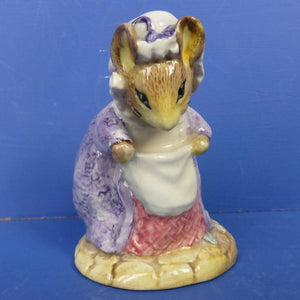 Royal Albert Beatrix Potter Figurine - Lady Mouse Made A Curtsy