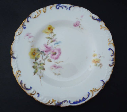 Antique Royal Crown Derby plate 2, 1897