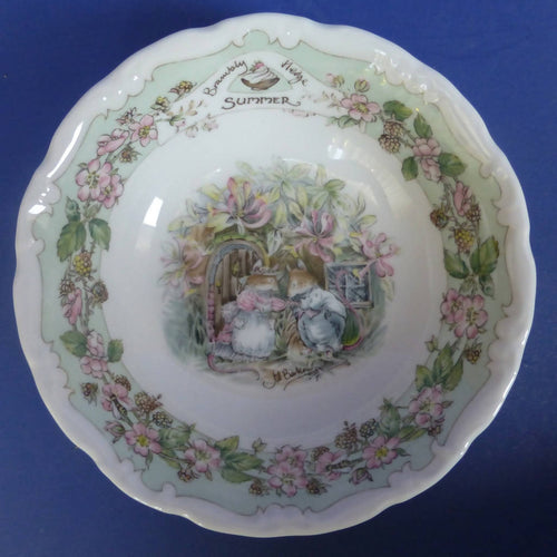 Royal Doulton Brambly Hedge Fruit Saucer / Dish Summer