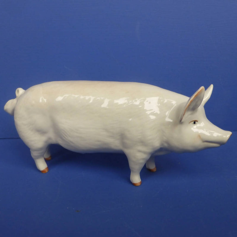 "Beswick Pig Boar Ch. ""Wall Champion Boy"" Model No 1453A"