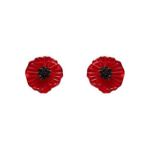 Erstwilder Poppy Field Earrings