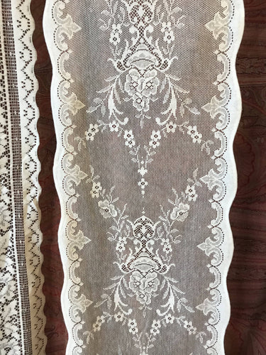 Lucinda A beautiful Victorian Design cream cotton lace 12