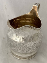 Georgian, George III, Crested Silver Cream Jug. London 1800 Robert & David Hennell. 5.49 troy ounces.