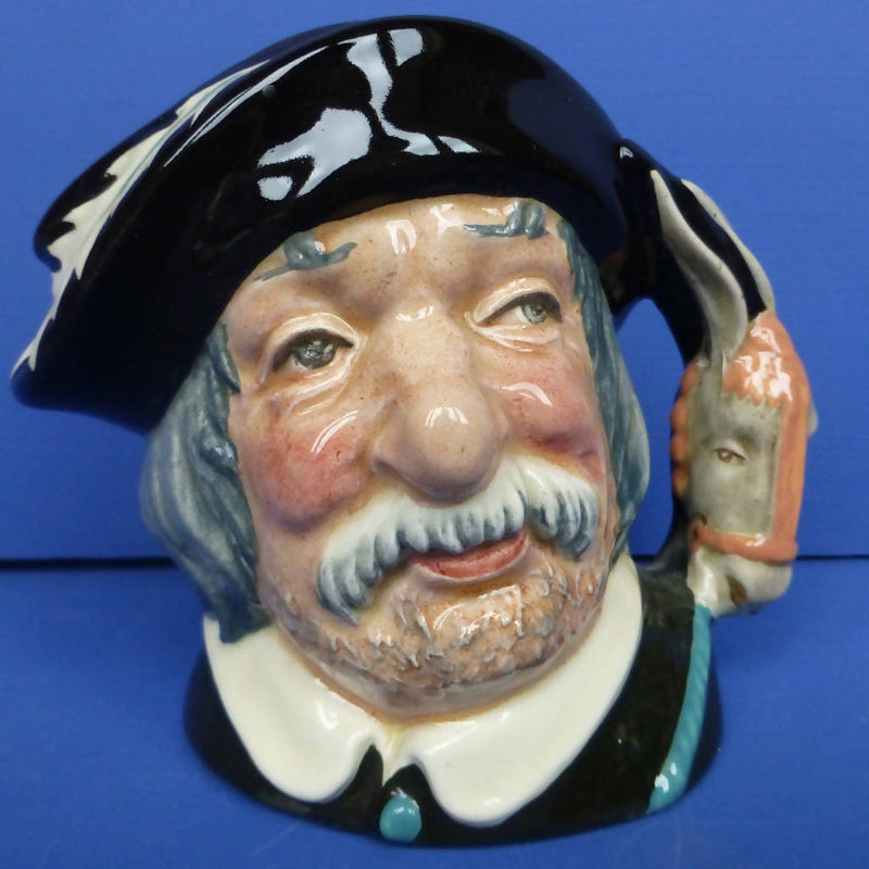 Royal Doulton Small Character Jug - Sancho Panca D6461