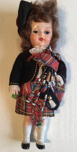 Pedigree Scottish Lassie Costume Doll. Boxed.