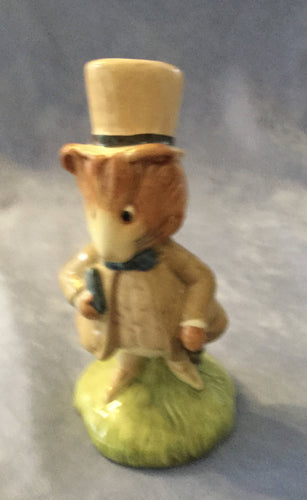 Amiable Guinea Pig Beatrix Potter Figure BP10a