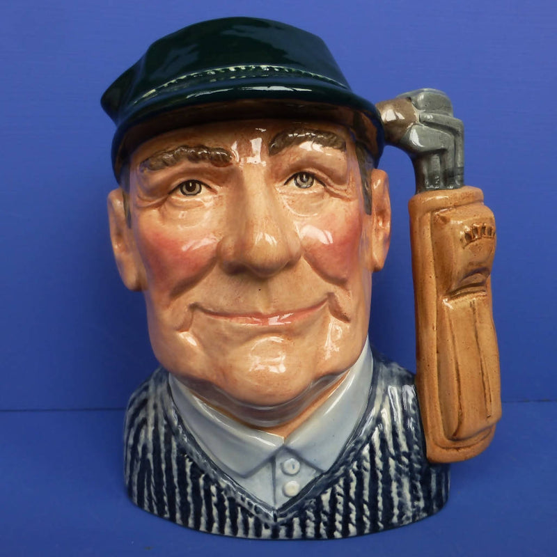 Royal Doulton Large Limited Edition Character Jug Golfer D6784